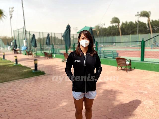 Harus Akui Ketangguhan Unggulan 2, Langkah Priska Terhenti di Perempat Final ITF W15 Sharm El Sheikh Mesir