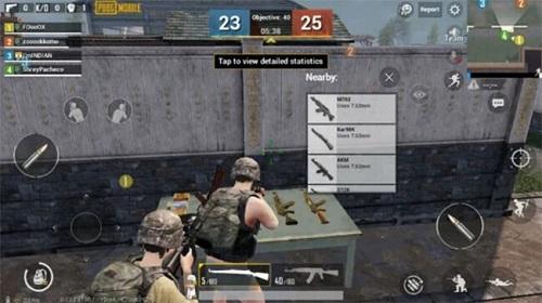 Trong vòng đội hình Deathmatch, các bạn sẽ mất đi khả năng loot đồ rất gần gũi