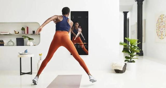 مرآة بثمن 1500 دولار تساعدك على ممارسة الرياضة !