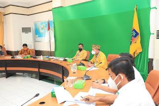 Rapat Evaluasi Perjanjian Kerjasama Antara PT. Pelindo IV dengan Pemkot Tarakan