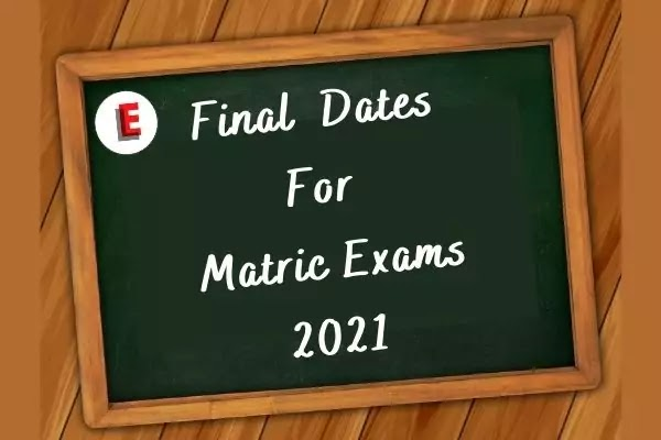 Punjab Boards | Matric Exams Schedule 2021