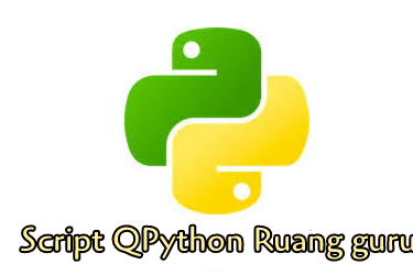Script Qpython Ruang Guru Full Speed