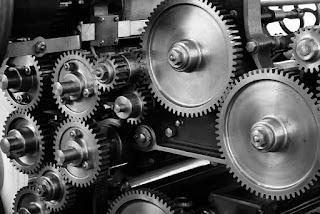 Mesin industri manufaktur