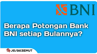 potongan bank bni