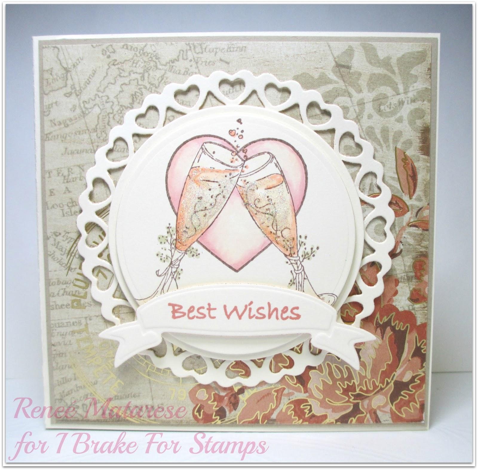 renlymat's world best wishes wedding card