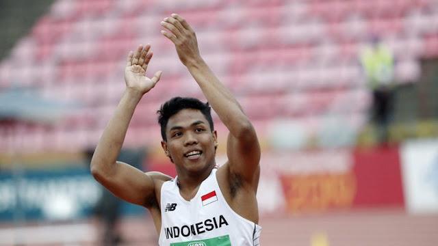 olahraga, lari, atletik, juara lari 100m
