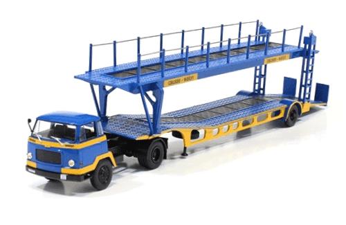 coleccion camiones articulados, camiones articulados 1:43, Unic MZ36 TCA camiones articulados