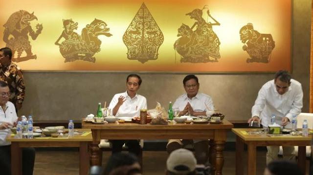 Makna Tokoh Pewayangan di Pertemuan Jokowi-Prabowo