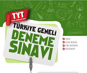 Çap TYT Türkiye Geneli Deneme PDF İndir