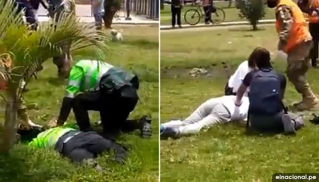 Intervención policial deja un muerto en Callao