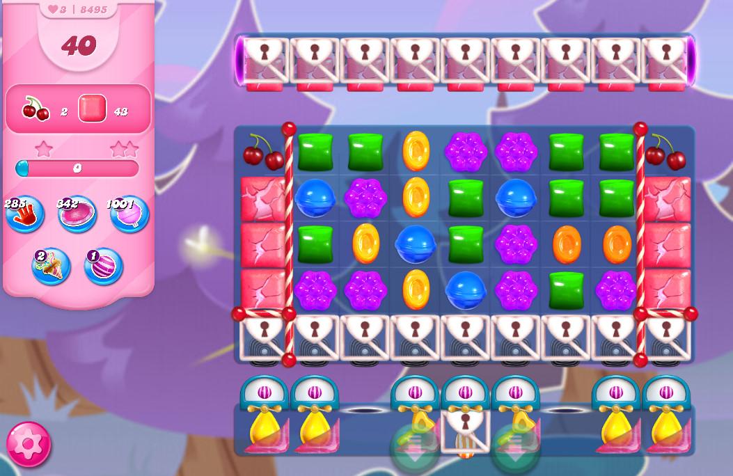 Candy Crush Saga level 8495