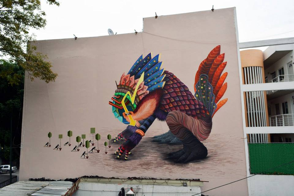 Curiot New Mural In Mexico City Mexico Streetartnews Streetartnews