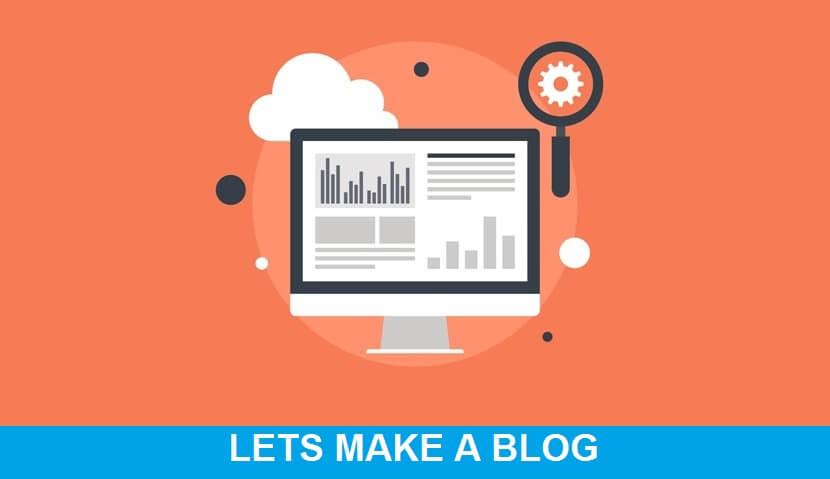 Let's Make a Blog