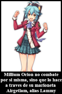 Millium Orion Lammy Airgetlam Trails of Cold Steel