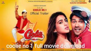 Coolie No 1 Full Movie Download Filmyzilla ओर 9xMovies Leaked Online
