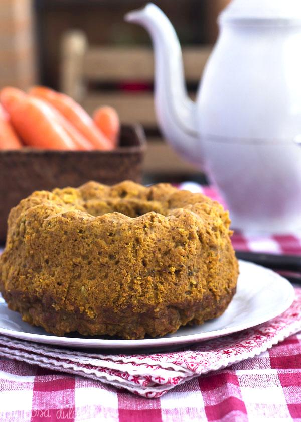Bizcocho integral de zanahoria y avellana #sinlactosa #sinazucar #realfood