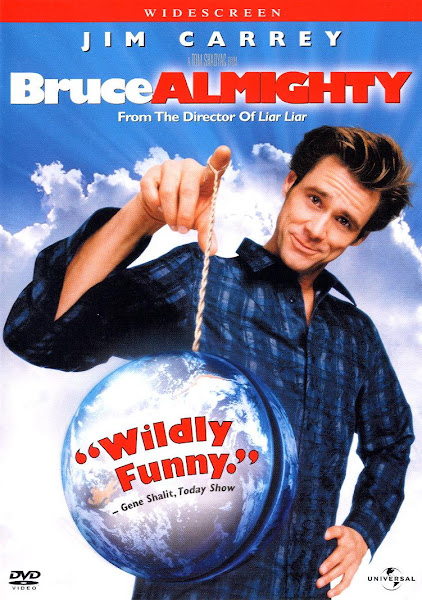 Poster of Bruce Almighty 2003 Dual Audio 720p Hindi BluRay With ESubs Download