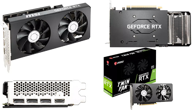MSI-GeForce-RTX-3060-Ti-Twin-Fan-OC-Box-Front-Top-Side-Rear-IO-Views