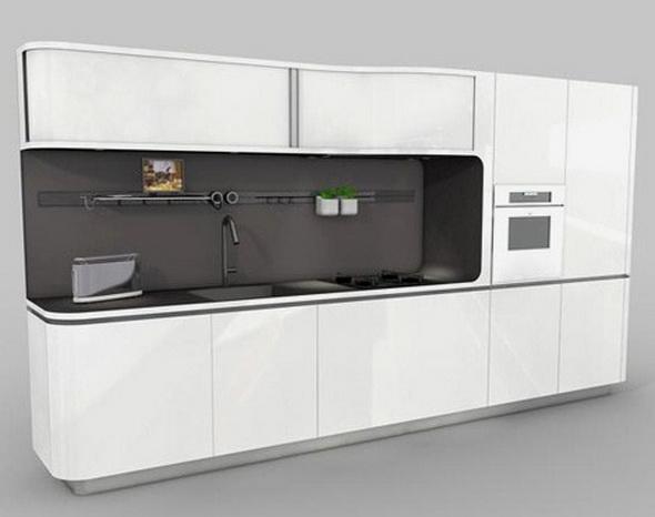 Gambar Dapur Modern Futuristik