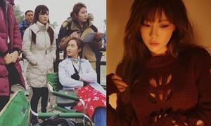 Phim Sao Hàn 30/10: Tae Yeon lộ nội y táo bạo, Yuri mặt vênh mắt liếc đầy thái độ-2016