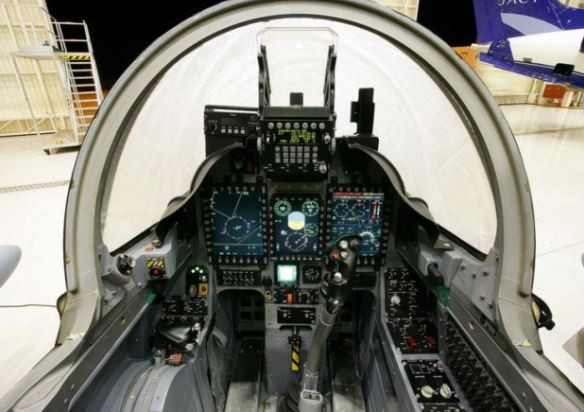 EMB-314 Super Tucano cockpit