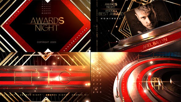 Videohive - Awards Show Broadcast Pack - 28303058 CS6 | 1920x1080 | No Plugin