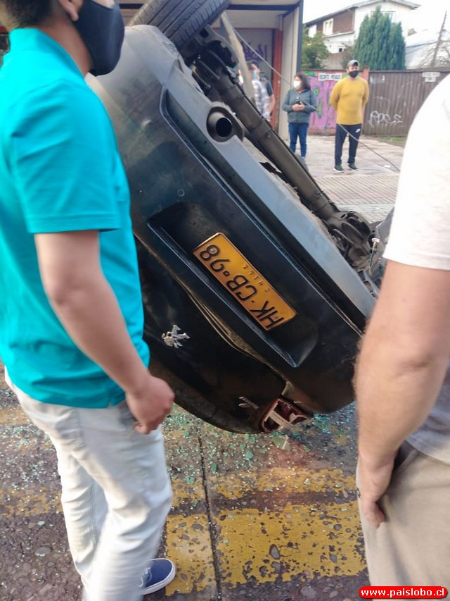 Osorno accidente vehicular