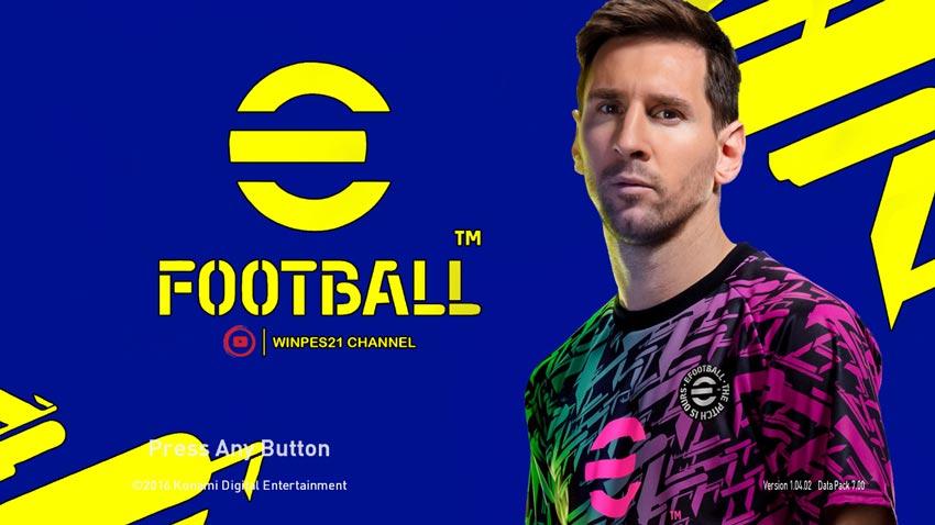 PES 2017 Graphic Menu eFootball PES 2022