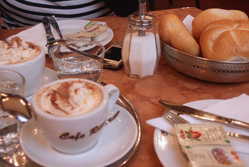 Breakfast @ Cafe Ritter