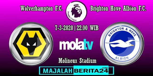 Prediksi Wolverhampton Wanderers vs Brighton Hove Albion