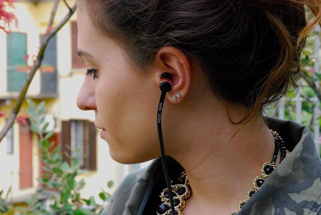alzate il volume, gli auricolari svedesi sudio sweden, auricolari svedesi, auricolari ottima qualità suono, fashion need, valentina rago, fashion blog italia, auricolari
