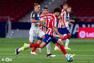 Video Atletico Madrid 3-0 Mallorca: Rực rỡ Morata, nóng bỏng vé C1