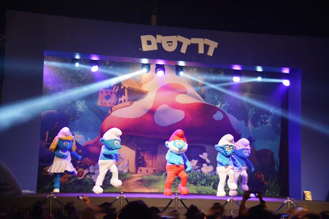 """מופע הדרדסים מחו""""ל Smurfs show from abroad"""