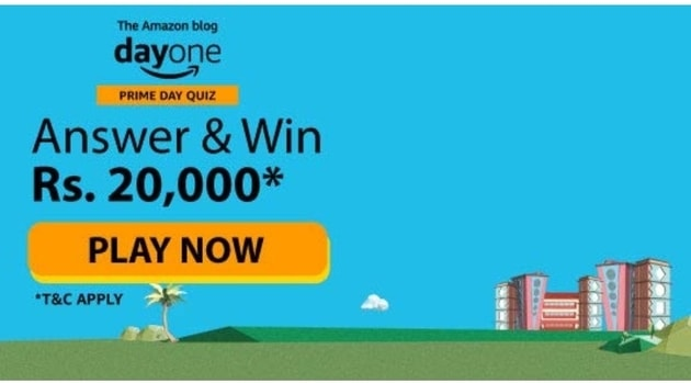 The Amazon Blog Day One Quiz Answers Win Rs.20,000. Amazon Blog Day One Quiz Answers, Amazon Prime Membership Program, Here Is The Blog Day One Quiz Amazon Answers