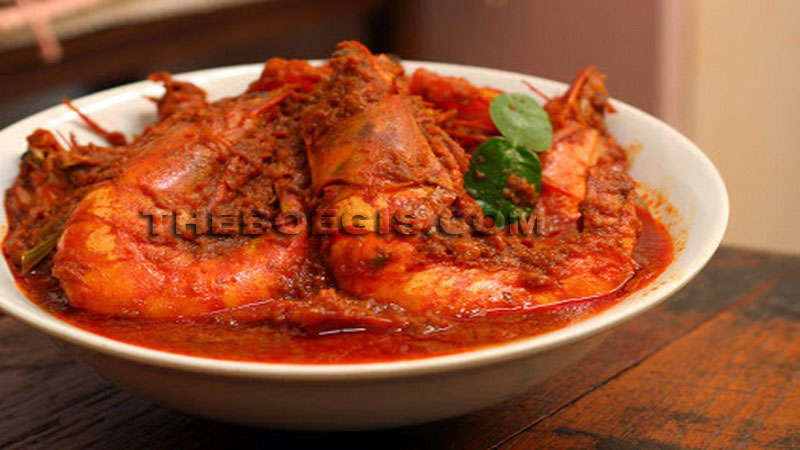 Belacan curry from Riau