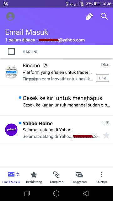 Periksa Email Masuk Yahoo
