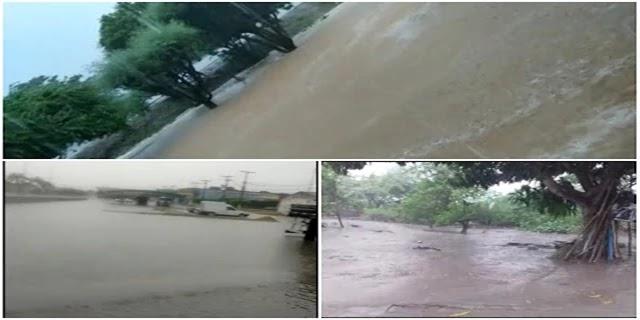 chuva em Ponto Novo