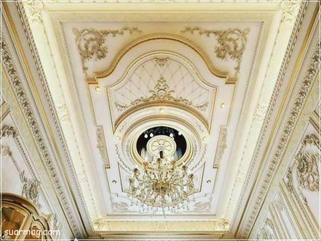 اسقف جبس بورد حديثة غرف نوم 9   Bedrooms Modern Gypsum Ceiling 9