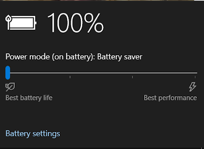 Windows 10 battery saver