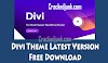Get Divi Theme With API Key Free Download Latest Version-v4.6.5 By Crackedjunk