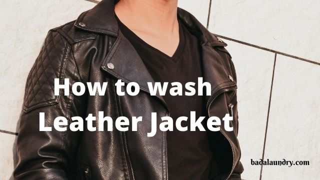 How to clean leather jacket at home?