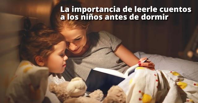 La importancia de leerle cuentos a los niños antes de dormir