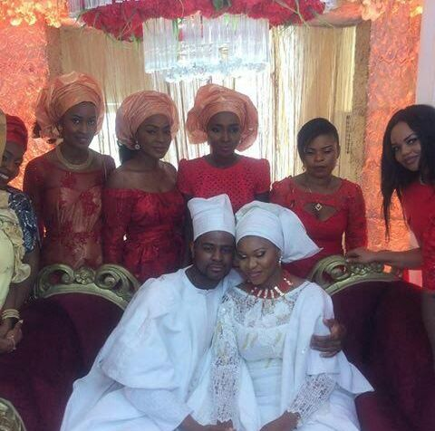 picturers from DJ Xclusive traditional wedding with Tinuke Ogundero
