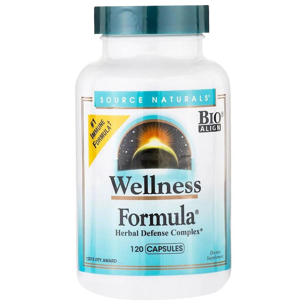 Source Naturals, Wellness Formula, Herbal Defense Complex, 120 Capsules