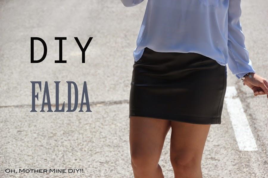 DIY Costura: Cómo hacer Falda de Cuero (patrones o moldes gratis). Blog de costura y diy.