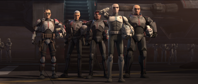 Echo Joins the Bad Batch Star Wars The Clone Wars Final Season