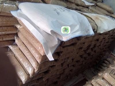 Benih padi yang dibeli   TEGUH Cirebon, Jabar.  (Sebelum di Kirim).