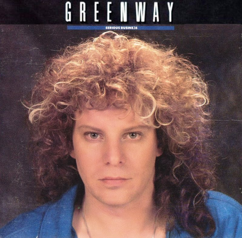 Greenway Serious business 1988 aor melodic rock