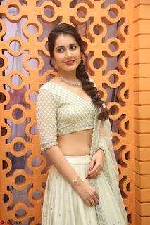 Raashi Khanan looks stunning in Crop Top Deep neck Choli Ghagra Transparent Chunni WOW ~  Exclusive Celebrities Galleries 047.JPG