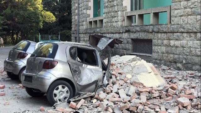 Δεκάδες σπίτια στα Τίρανα και στο Δυρράχιο με ζημιές από τον διπλό σεισμό - Στους 105 οι τραυματίες